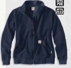 Opentip.com: Custom Carhartt Women's Flame-Resistant Klondike Sweatshirt