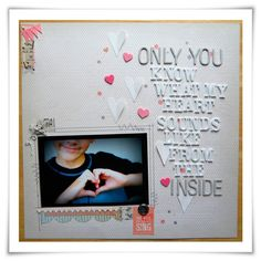 Quote for my Kids : Only You · CraftGossip.com