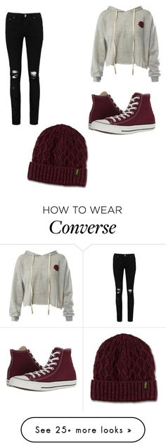 """""""Untitled #2"""" by addilynn03 on Polyvore featuring Sans Souci, Boohoo, Converse and Dr. Martens"""