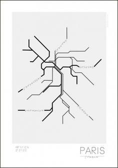 Underground poster from Kreativitum by Linn Johansson, Karolina Gullberg Underground Series, London Underground, Subway Map, New York Subway, Diy Accessoires, Scandinavian Interior Design, Poster Pictures, Minimalist Poster, Home And Deco
