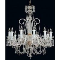 Tomia L 155/10/003 chrome Royal Family Emily 10-Light Crystal Chandelier