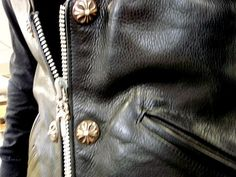 CHROME HEARTS : great leather jacket!!!