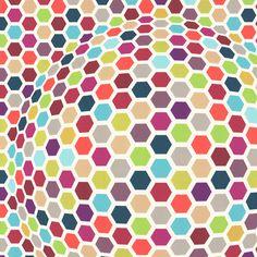 Diseño de esferas 3D en este papel pintado de la colección Lars Contzen III de Living Walls.