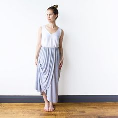 That drape tho  . . Our colour-blocked #adionamaxidress is in stock  online. Save $15 off a maxi before Sunday with code 15MAXIBLOCK . . Shop www.encircled.ca  Shop www.encircled.co  . . #maxidress #maxidresses #madeincanada #ethicalfashion #slowfashion #travelstyle #madeintoronto #sustainable #eco #modal #ecofashion #30wears #domorewithless #travellight #greciangoddess #grecian #ootd #summerstyle #summer
