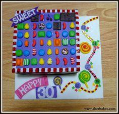 Candy crush birthday ideas!!  Moms 50th birthday? I think yes