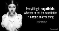 carrie-fisher-quote-everything-negotiable