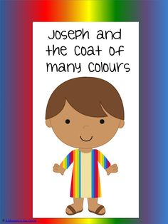 Joseph and his coat of many colors word match worksheets ...