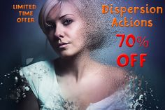 [70% OFF] 17 Dispersion Actions by ArtPlanet on Creative Market