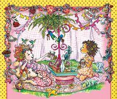nancy fancy illustration | Illustration copyright © byRobin Preiss Glasser from Fancy Nancy Tea ...