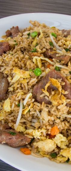 Beef fried rice recipe yummy food with love pinterest beef how to make beef fried rice ccuart Image collections