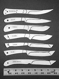 Hunting, skinning, utility knives, tantos, oriental styles, Asian knife designs, fine handmade custom knives