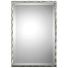Uttermost Sherise Brushed Nickel Mirror 01113