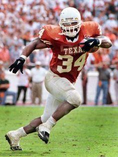 RICKY WILLIAMS (The Texas Tornado), Texas Longhorns
