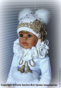 """Одежда для девочек, ручной работы. Ярмарка Мастеров - ручная работа Комплект """"Снегурочка №2"""". Handmade."""