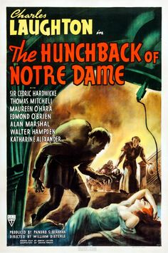 Charles Laughton In The Hunchback Of Notre Dame With Sire Cedric Hardwicke…