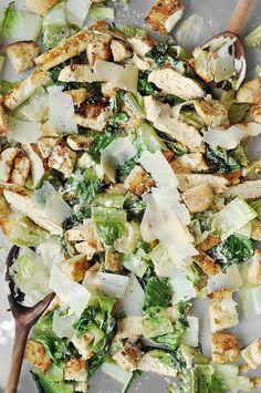 Grilled Caesar Salad!