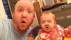 """While celebrating Christmas Woodsie and his family took the Face Swap Live app to a new super creepy level. Recently he followed up with an equally terrifying """"Bow To Queen Baby"""" face s…"""