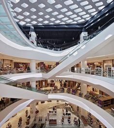 Love all aspects of this design of a new shopping centre in Liverpool, UK by rojkind arquitectos  =  http://www.designboom.com/weblog/cat/9/view/19573/rojkind-arquitectos-liverpool-department-store-update.html