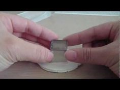 How to transfer images to polymer clay tutorial - YouTube