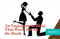 An Engagement Ring That Won't Break the Bank