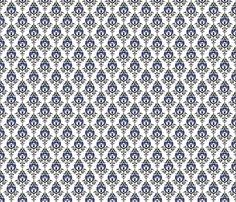 Doctor_Damask_close_med fabric by morrigoon on Spoonflower - custom fabric