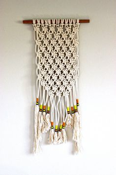macrame wall art wall hanging tribal minimalist by macandmore