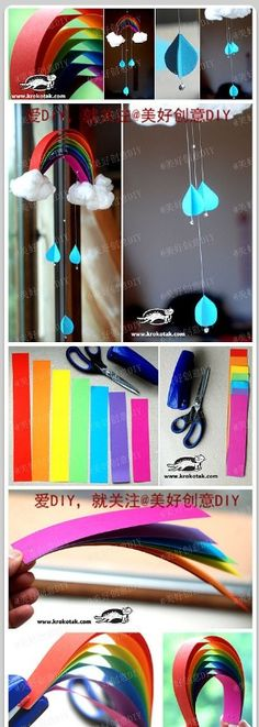 Kids project rainbow