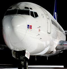 LN-BUC Scandinavian Airlines - SAS Boeing 737-505