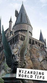 Tips and tricks when visiting the Wizarding World of Harry Potter at Universal Orlando. Must remember next time I visit!