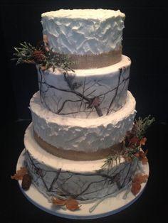 Realtree Camo Wedding Cake Elegant Classy Realtreecamo