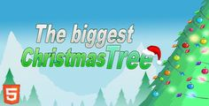 The Biggest Christmas Tree . The Biggest Christmas Tree is HTML5 stacking