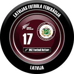 DNZ Football Buttons: Seleção da Letônia