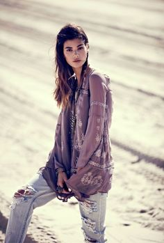 boho fashion styles | Lady of the Canyon- Free People- Forever Boho – Bohemian Fashion