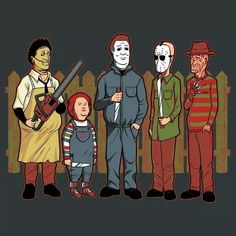 Horror King of the Hill style