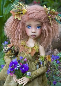 dolls by Martha Boers | Introducing Hope - Favourite Photos 2012 - Antique Lilac