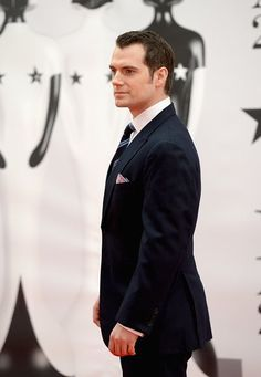 Henry Cavill attends BRIT Awards in London.