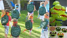 The BEST Teenage Mutant Ninja Turtles Party Ideas - http://www.decorationarch.net/creative-ideas/the-best-teenage-mutant-ninja-turtles-party-ideas.html