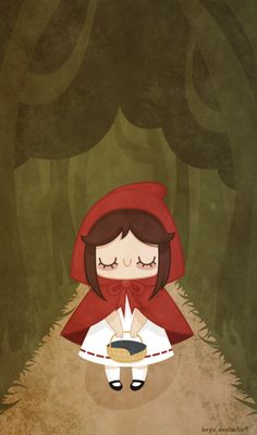 """""""Little Red Riding Hood"""" by beyx"""