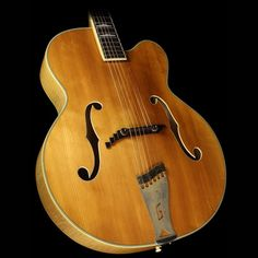 "1955 Gretsch 6039 ""Fleetwood"" Archtop Guitar Natural"