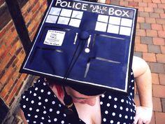 Doctor Who Graduation cap