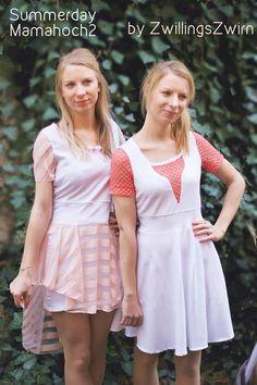 Zwillingszwirn Tellerrock2