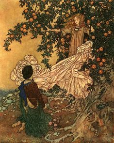 Resultat av Googles bildsökning efter http://upload.wikimedia.org/wikipedia/en/3/32/Edmund_Dulac_-_The_Garden_of_Paradise_-_Fairy_of_the_Garden_garment.jpg