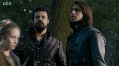 Porthos and d'Artagnan - BBC The Musketeers S3E7