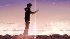 """Kimi no na wa"" is the Blockbuster Hit Anime Film for 2016 Film 2017, Film D'animation, Film Serie, Kimi No Na Wa, Anim Gif, Gif Animé, Watch Your Name, Mitsuha And Taki, Bakemono No Ko"