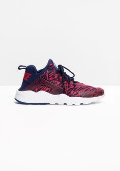 best service 088b1 dd822 Nike Air Huarache Ultra Knit Jacquard Loyal Blue University Red Trainer  Discounted price, ...