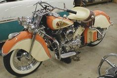 Chief 1948 Indian Chief Motorcycle - my dream bike. Indian bikes are the originals! Just beautiful. Indian Motorbike, Vintage Indian Motorcycles, Antique Motorcycles, Vintage Bikes, Triumph Motorcycles, American Motorcycles, Custom Motorcycles, Custom Bikes, Custom Baggers