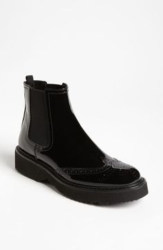 Prada Wedge Ankle Boot available at #Nordstrom