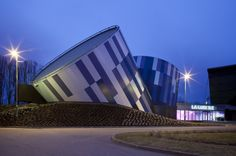 Moussafir Architectes Associés designed the La Luciole Concert Hall in Alençon, France.