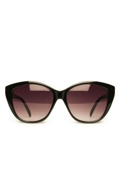 b2a97c0c1e7d5 Bobcat Sunglasses in Black   ShopSosie  black  cat-shaped  sunglasses   shopsosie