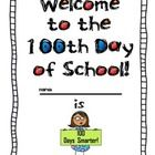Here is a freebie you can use to celebrate the 100th day of school with your students!  Included is a 100's chart mystery picture, measurement fun ...